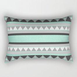 Turquoise Tribal Rectangular Pillow