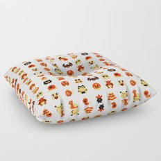 The Boys Are Back In Town Floor Pillow
