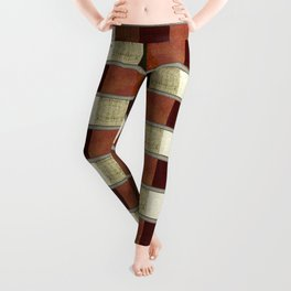 """Retro Abstract Squares Pattern"" Leggings"
