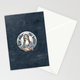 The older the better Stationery Cards