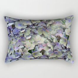 Soft Multi Color Hydra and Ivy leaves Rectangular Pillow
