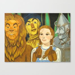 Dorothy's Crew Canvas Print