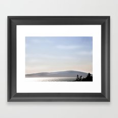 Acadia Atmosphere - Downeast Maine Framed Art Print