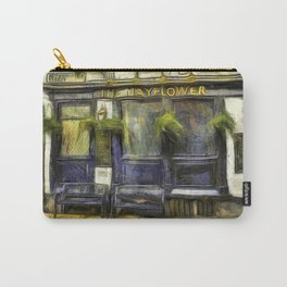 The Mayflower Pub London Van Gogh Carry-All Pouch
