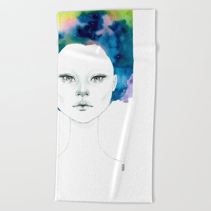 Nebulosa Beach Towel
