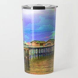 Penarth Pier Bright Travel Mug