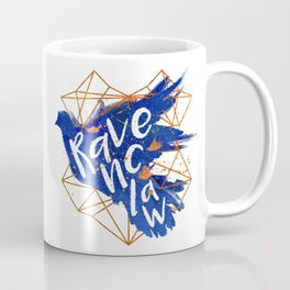 Ravenclaw Bronze Splatter Coffee Mug