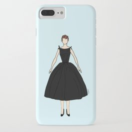 Audrey Hepburn Vintage Retro Fashion 1 iPhone Case