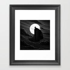 Drawlloween 2016: Vampire Framed Art Print
