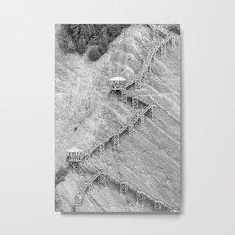 Falls Path Metal Print