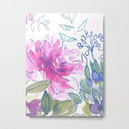 Flower in Gower- Study 4 Metal Print
