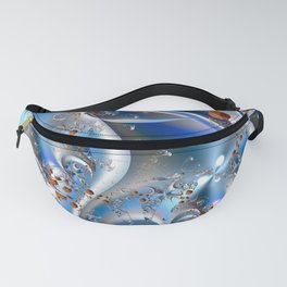 Postal service - An abstract fractal illustration Fanny Pack
