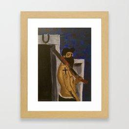 Protection Framed Art Print