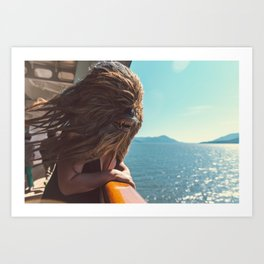 Mary Celeste pt IV Art Print