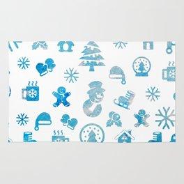Winter Theme Rug