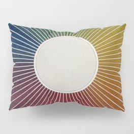 Antique Color Wheel Pillow Sham