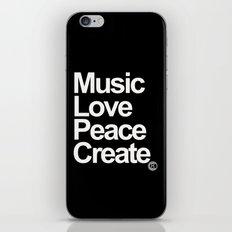 MLPC White iPhone & iPod Skin