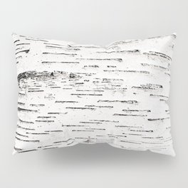 White Birch Pillow Sham