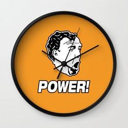 Jeremy Clarkson POWER! Wall Clock