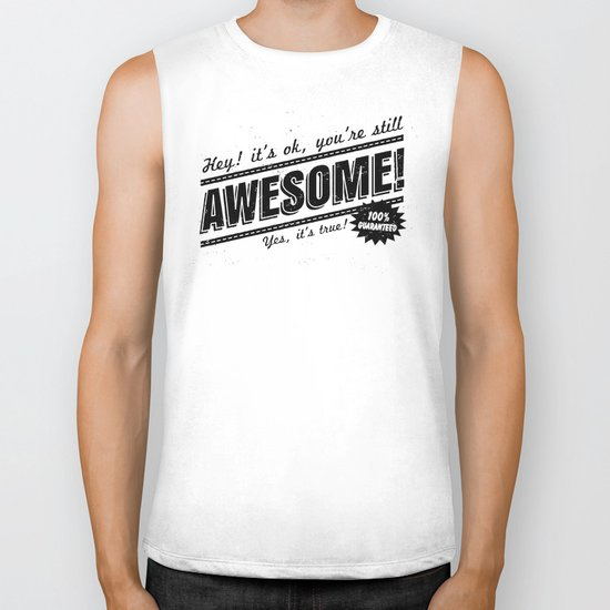 be awesome Biker Tank