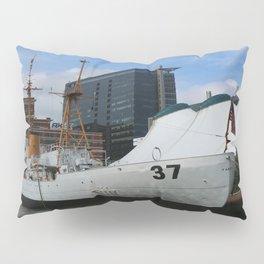 Coast Guard Cutter Taney Baltimore Harbor Pillow Sham