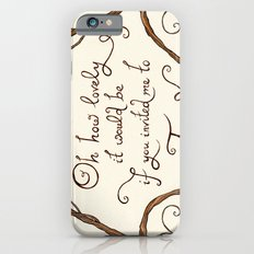 Oh How Lovely it Would Be iPhone 6s Slim Case