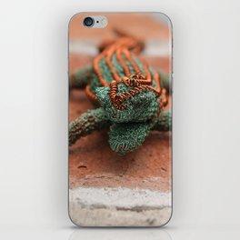 Copper Iguana iPhone Skin