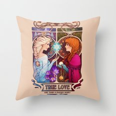 Let Me In - quote version Throw Pillow