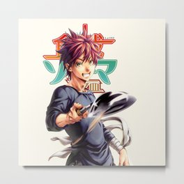 yukihira Great 9999 Metal Print