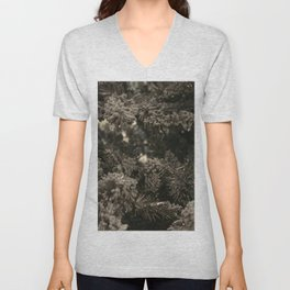Dusty black pine Unisex V-Neck