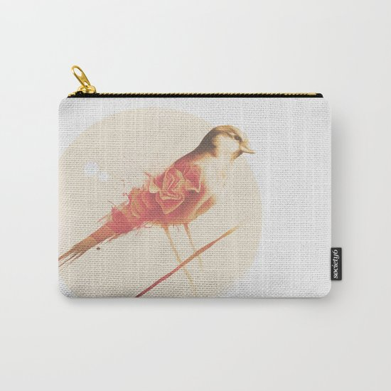 PAINTED BIRD Carry-All Pouch