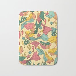 Mermaid Dreams Bath Mat