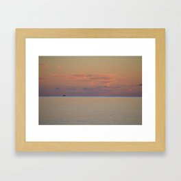 You're gonna need a bigger boat. Framed Art Print