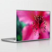 hibiscus Laptop & iPad Skins featuring Hibiscus by Dr. Tom Osborne