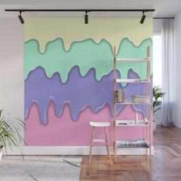 Pastel Ice Cream Melt Wall Mural