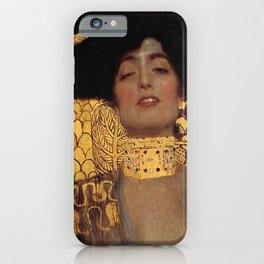 JUDITH AND THE HEAD OF HOLOFERNES - GUSTAV KLIMT iPhone Case