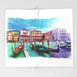 Venice Throw Blanket