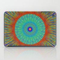 kaleidoscope iPad Cases featuring Kaleidoscope  by BrucestanfieldartistPatterns