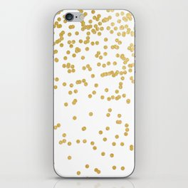 white art iPhone Skin