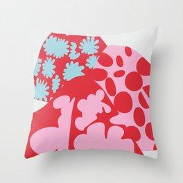 Fashion Mix Colors Throw Pillow