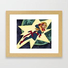 Comic book heroes fanart series 1 Framed Art Print