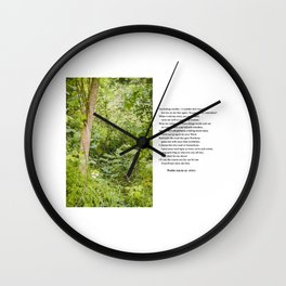 Psalm 119 Wall Clock