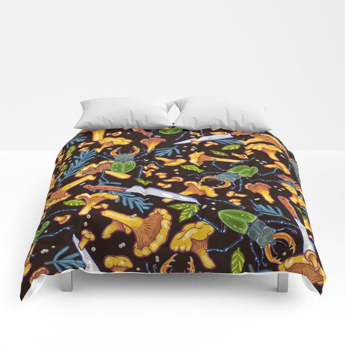 Deep in the woods Comforters