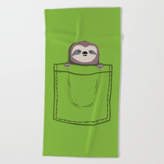 My Sleepy Pet Beach Towel
