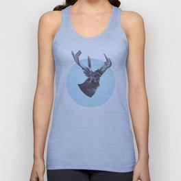 Deer in headlights Unisex Tank Top