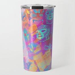 Lucha Libre Travel Mug