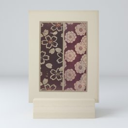 Verneuil - Japanese paper and fabric designs (1913) - 24: Seedlings and stylised flowers Mini Art Print