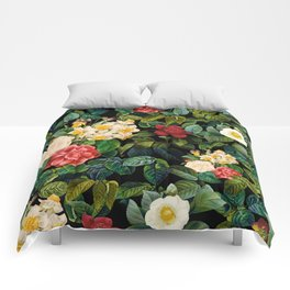NIGHT FOREST VIII Comforters