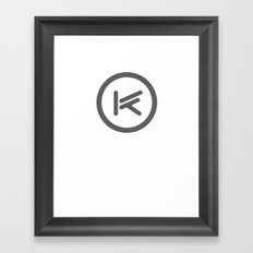 BIG BAD KIOSY Framed Art Print