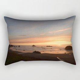 Sunset in Brandon Rectangular Pillow